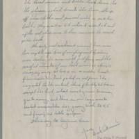 1945-10-08 Cpl. Dick Wunerus to Dave Elder Page 2