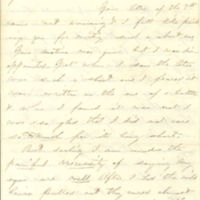 Clara Vinson Weaver's letters to husband James B. Weaver, 1862-1864