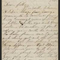 1862-12-16 Charles A. Gates to Mr. Arad Gates Page 1