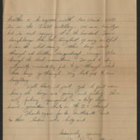 1945-07-15 Pfc. Don Crossett ti Dave Elder Page 2