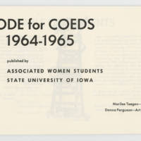 Code for Coeds 1964-65