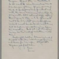 1942-01-06 Laura Davis to Lloyd Davis Page 4