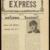 The Iowa Greek Express, Vol. 4 Page 1