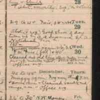 1921-11-27 -- 1921-12-03