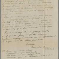 1945-10-25 Lt. Ed. Brown to Dave Elder Page 2