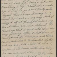 1945-08-02 Sgt. Forrest Mitchell to Dave Elder Page 1