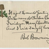 1915-12-22 Bob Browning to Karl Hoffman