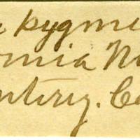 Clinton Mellen Jones, egg card # 623