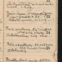 1921-08-21 -- 1921-08-27