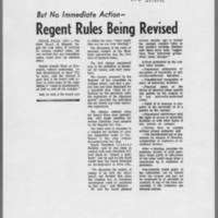 "1971-05-13 Iowa City Press-Citizen Article: """"Regent Rules Being Revised"""""