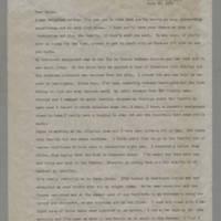 1945-07-22 Helen Ciancimino to Helen Fox Page 1