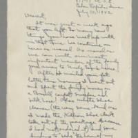 1942-07-10 -- 1942-07-12 Laura Davis to Lloyd Davis Page 1