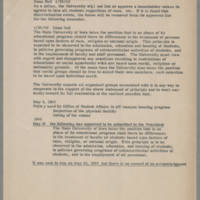 1960-04-20 Policies Related to Discrimination in Off-Campus Housing Page 1