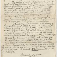 1919-05-21 Robert M. Browning to Dr. Mabel C. Williams Page 2