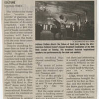"2009-09-21 Daily Iowan Article: ""Cultural center rededicates itself"" Page 2"