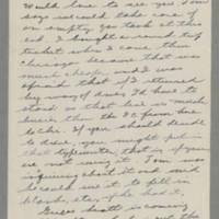 1943-06-09 Bessie Rector to Laura Frances Davis Page 2