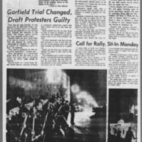 "1971-05-08 Daily Iowan Article: """"Explosion Shakes Iowa City Civic Center"""" Page 3"