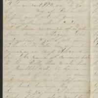1863-12-01 Charles A. Gates to Mr. Arad Gates Page 2