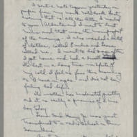 1943-01-28 Laura Davis to Lloyd Davis Page 1