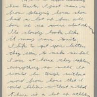1942-08-17 Lloyd Davis to Laura Davis Page 1