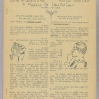 Looking Ahead, v. 2, issue 4, whole no. 8, May 19, 1940