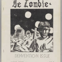 Le Zombie, v. 4, issue 5, whole no. 40, July 1941