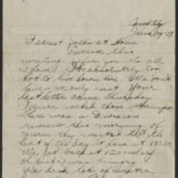 1918-06-29 Thomas Messenger to Mr. N.H. Messenger Page 1