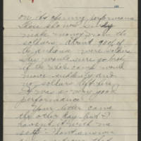 1918-03-06 Thomas Messenger to Vera Wade Page 3