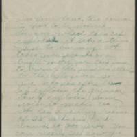 1918-08-10 Thomas Messenger Mrs. N.H. Messenger Page 5