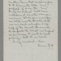1943-12-19 Laura Davis to Lloyd Davis Page 5