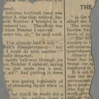 "Clipping: """"War Correspondent Shot"""" Page 2"