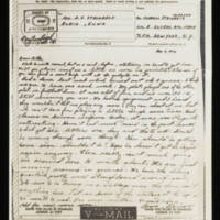 Carroll Steinbeck to Alfred and Vira Steinbeck Telegram