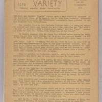Variety, December 1944