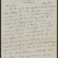 1945-07-05 Lt. John E. Perdock to Dave Elder Page 1