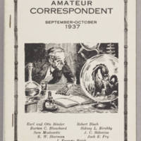 Amateur Correspondent, v. 2, issue 2, September-October 1937