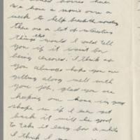 1943-10-17 Lloyd Davis to Laura Davis Page 2