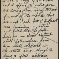 1945-02-28 James B. Hanna to Dave Elder Postcard