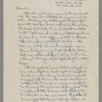 1941-11-24 Laura Davis to Lloyd Davis Page 1