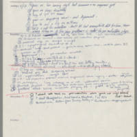 University of Iowa Draft Counseling and Training: Notes, 1970-1972