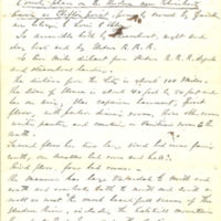 Thomas C. Durant's personal property records including some correspondence, 1855-1876