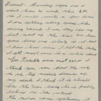 1943-10-10 Lloyd Davis to Laura Davis Page 1