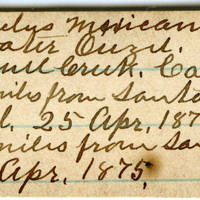 Clinton Mellen Jones, egg card # 848