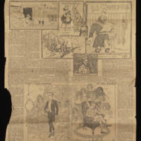 """1916-12-10 Des Moines Sunday Register Clipping: """"Register correspondent rescues French war trench newspapers"""""""