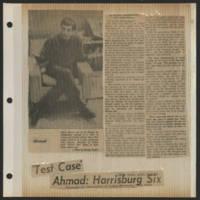 1971-04-14 Daily Iowan Article: ''Test Case' Ahmad: Harrisburg Six'