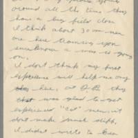 1942-07-13 Lloyd Davis to Laura Davis Page 2