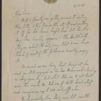 1945-06-19 David L. Neiswanger to Dave Elder Page 1