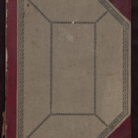 Women's Missionary Society ledger, between 1892 and 1897