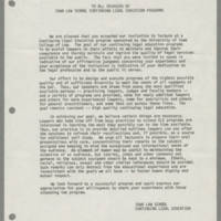 University of Iowa Committee on Human Rights policies, 1958-1986