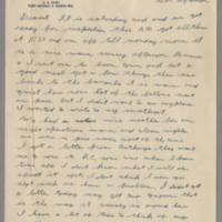 1942-12-13 Lloyd Davis to Laura Davis Page 1