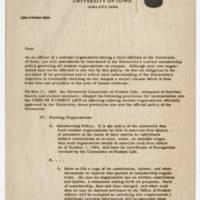 M.L. Huit Correspondence Page 1